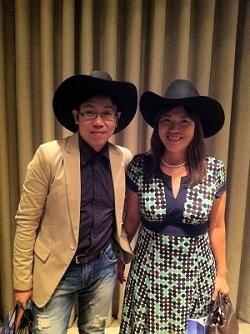 芳玲與阿忠牛仔帽250