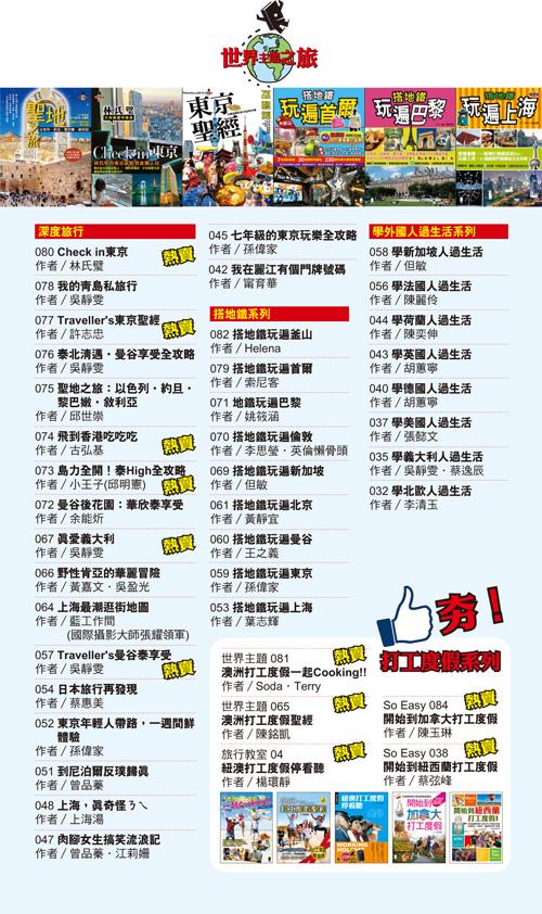 世界主題之旅目錄2013-1