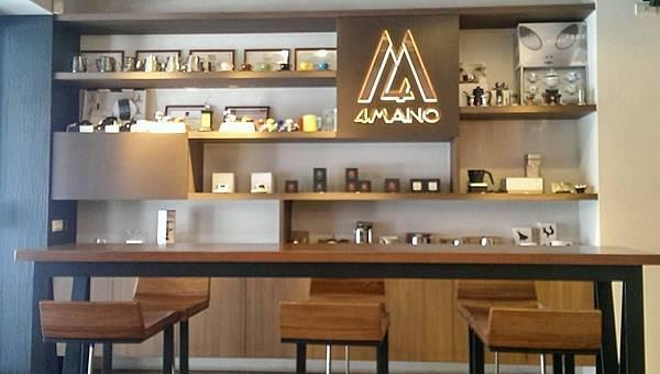 閃閃發亮的4Mano Logo