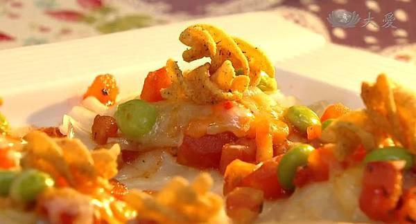 番茄雞豆彩蔬餃