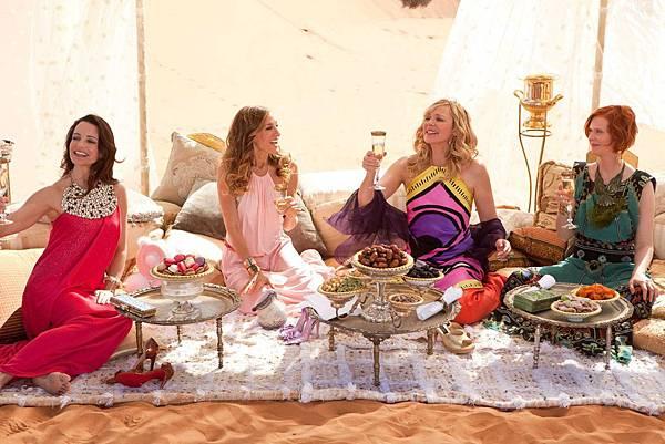慾望城市第二集在摩洛哥Marrakech拍攝