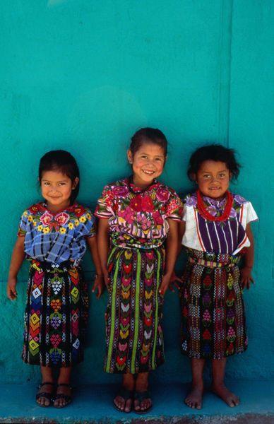 瑪雅族傳統服飾
