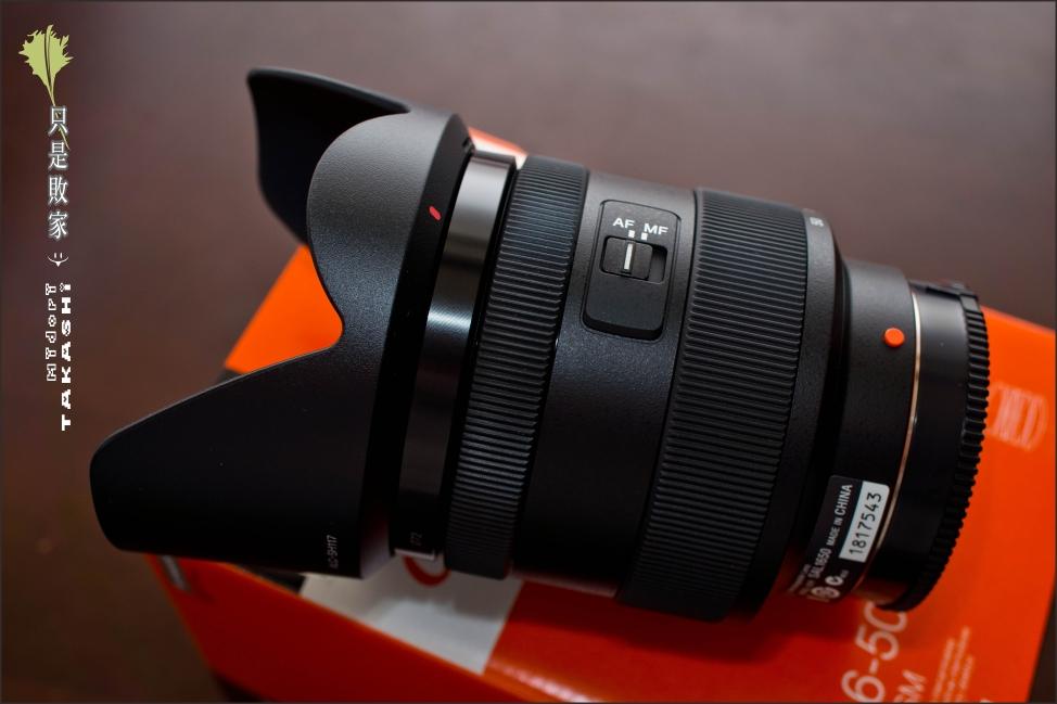 開箱-Sony DT1650。LA-EA2-14.jpg
