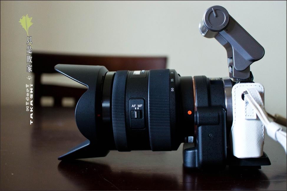 開箱-Sony DT1650。LA-EA2-35.jpg