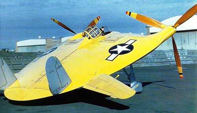 Vought-V-173-Flying-Flapjack-Rear-View