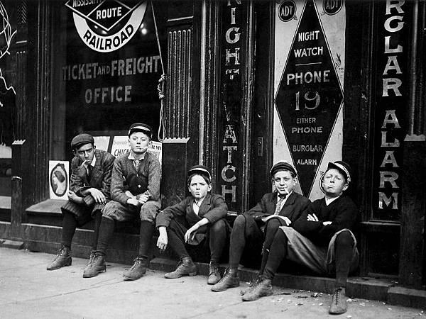 A.D.T.-Boys.-They-all-smoke.-Birmingham-Ala-November-1910