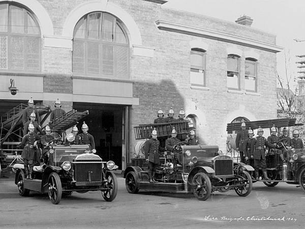 Fire-Brigade-Christchurch-1924
