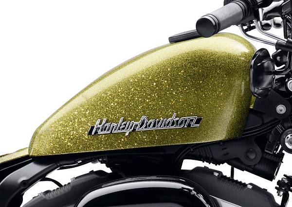 Gold Metal Flake Tank
