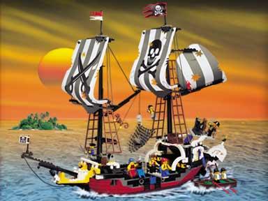 2001 Pirate Battle Ship/Red Beard Runner