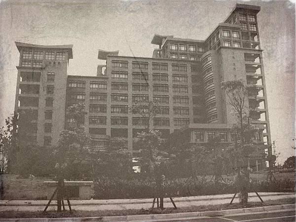 某棟古早的建築物 XD