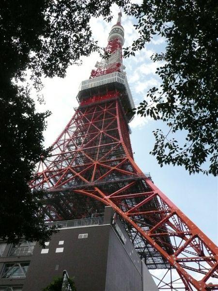 另一個角度的東京鐵塔