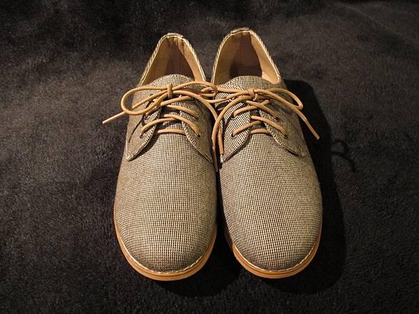 千鳥格牛津鞋 $2380