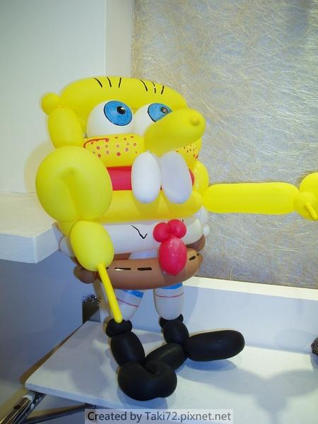 海綿寶寶氣球