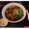 高雄幸福茶餐廳-新加坡肉骨茶麵及牛蒡絲