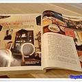咖啡林咖啡0409-剛好瀏覽到雜誌在介紹咖啡館