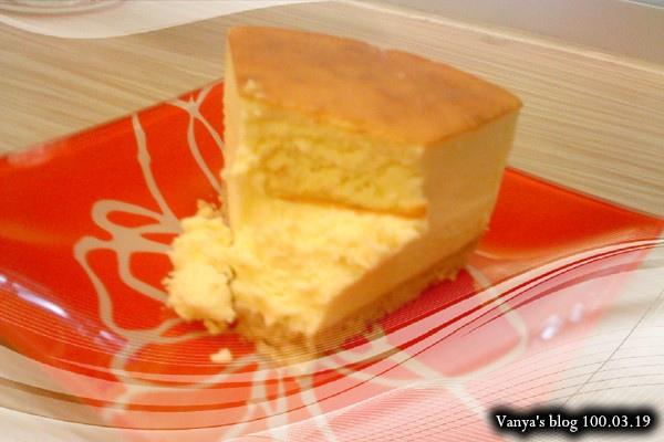 咖啡林咖啡-姻姻點的超濃乳酪蛋糕,剖面