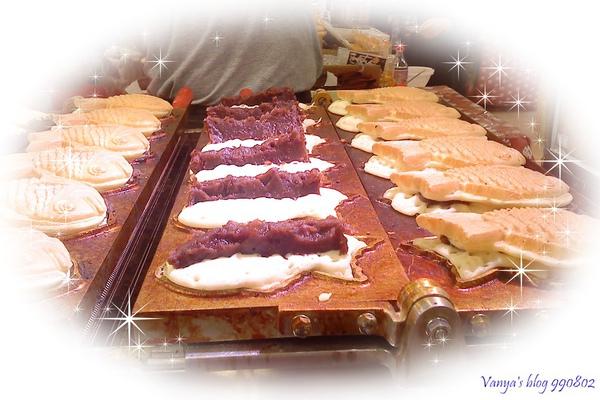 2010漢神百貨日本九州物產展-鯛魚燒,飽滿的紅豆