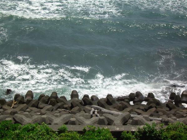 海岸邊的景色
