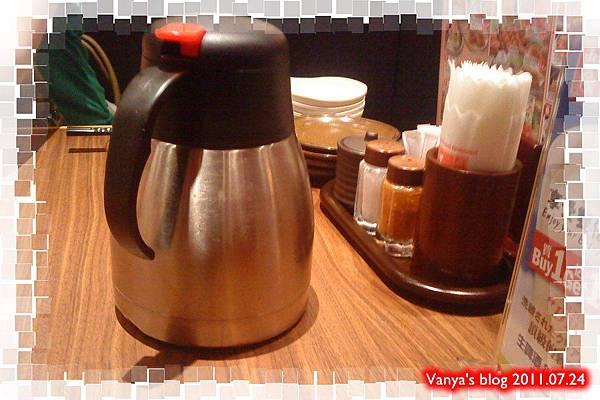 高雄五福大統之居食屋和民-麥茶,好喝!