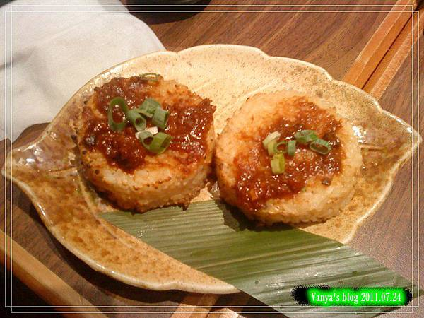 高雄五福大統之居食屋和民-味噌香烤飯糰