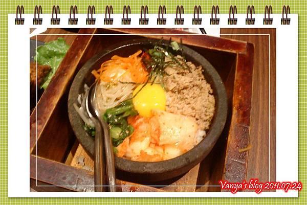 高雄五福大統之居食屋和民-韓式石鍋拌飯