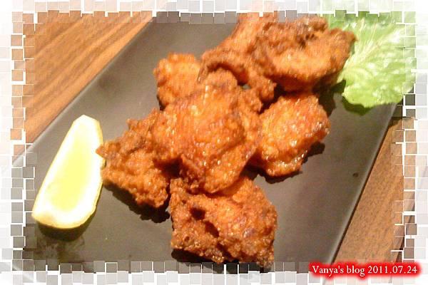 高雄五福大統之居食屋和民-香脆炸雞