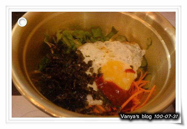 高雄韓式料理之淨豆腐-加 60 元拌餐配料