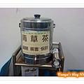中醫診所提供的青草茶,清爽微甘,溫溫的天然味