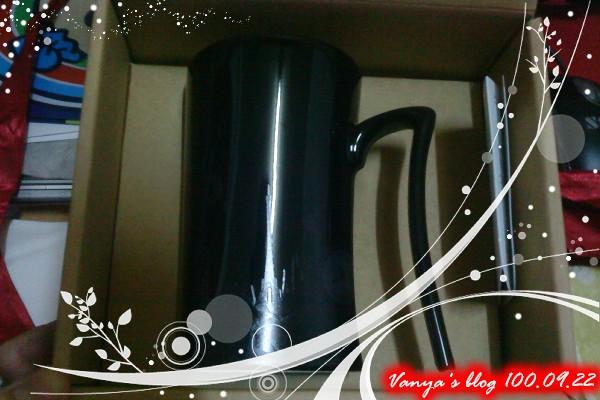 雅馨姐送的杯子-超喜歡,黑色