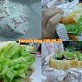 高雄 always a+ 丹麥燻雞三明治,生菜滿滿
