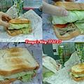 高雄 always a+ 之卡布及丹麥燻雞生菜三明治早餐