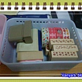 新買的小收納盒,放入印章等文具