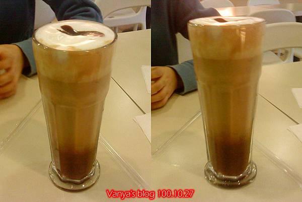 高雄夢時代3F波哥茶館-咖啡摩卡,去冰