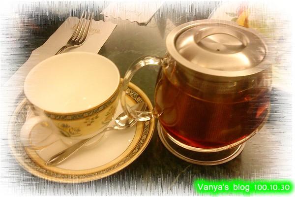 高雄河堤社區-帕莎蒂娜,老妹點的古典茶