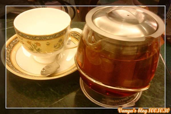 高雄河堤社區-帕莎蒂娜,亭點的伯爵茶
