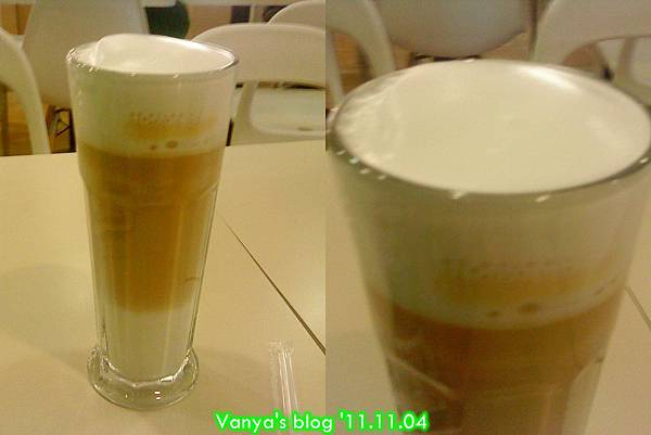 高雄夢時代3F波哥茶館-卡布奇諾去冰無糖