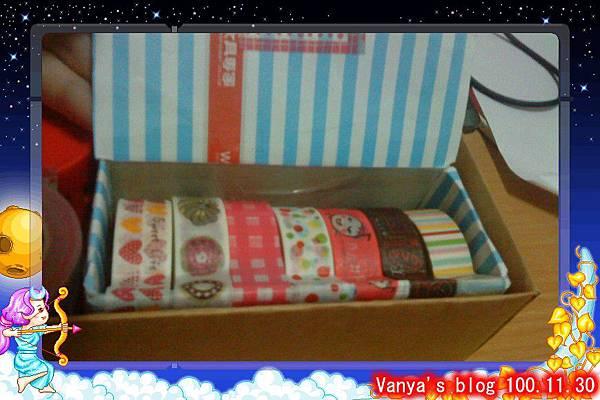 餅乾盒化身紙膠帶的窩