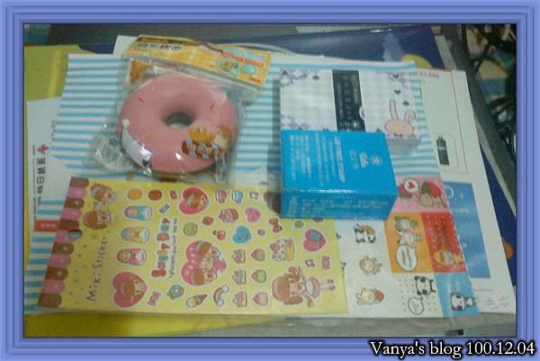 高雄中山路9*9文具店-甜甜圈膠台,印章,卡片和貼紙等