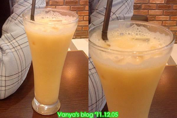 高雄漢神百貨BF3東森咖啡-小汪點的水果優格