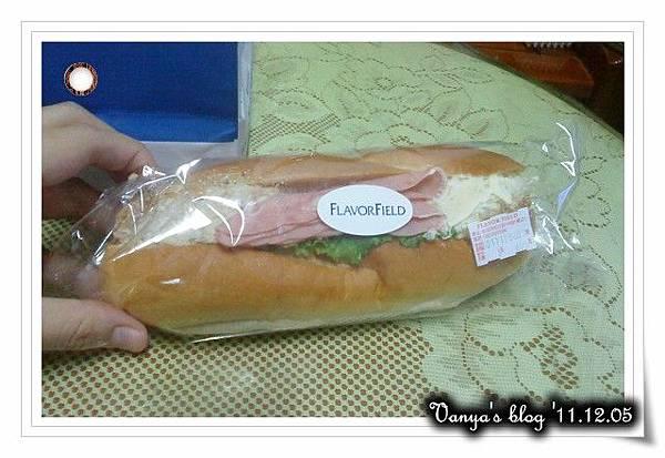 高雄漢神百貨BF3之FLAVOR FIELD-法式蛋沙拉三明治,鮪魚口味