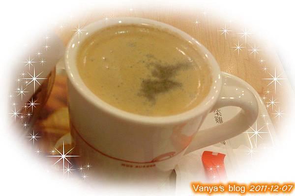高雄大立前店之摩斯漢堡-MOS咖啡,香濃咖啡味