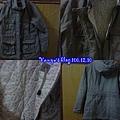 研究所時期於台南FOCUS出清購買的外套500元