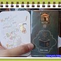 2011年毛毛送的生日卡片及禮物-書籤