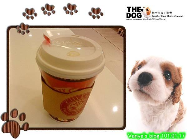 7-11春節活動city coffee杯-中杯熱拿鐵