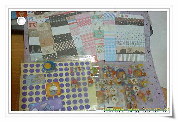 2012年手帳-裝飾貼紙及卡通貼紙