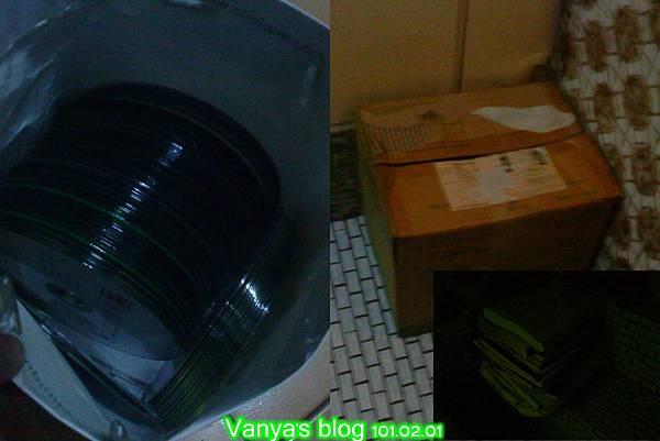 資源回收-廢光碟和紙類...