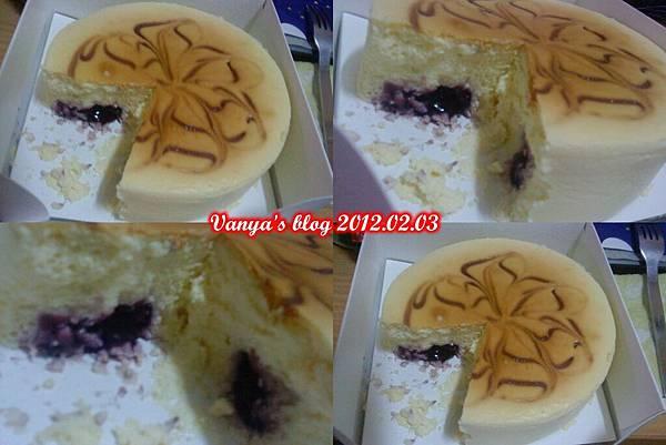 起士公爵-藍莓起士乳酪蛋糕,意外賺到的!!