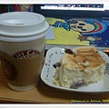 起士公爵-藍莓起士乳酪蛋糕搭配咖啡的晚茶組合