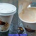 中山大學廣場-威爾希斯咖啡,卡布咖啡