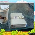 中山大學廣場-威爾希斯咖啡,休息一下~~